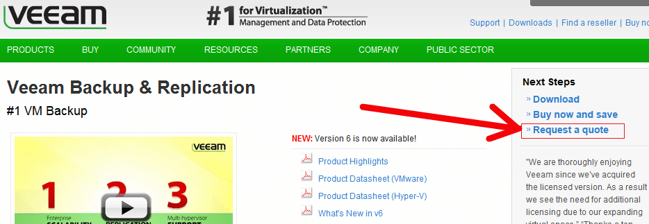 Veeam Software Increased CTR By 161 66% | VWO Case Study