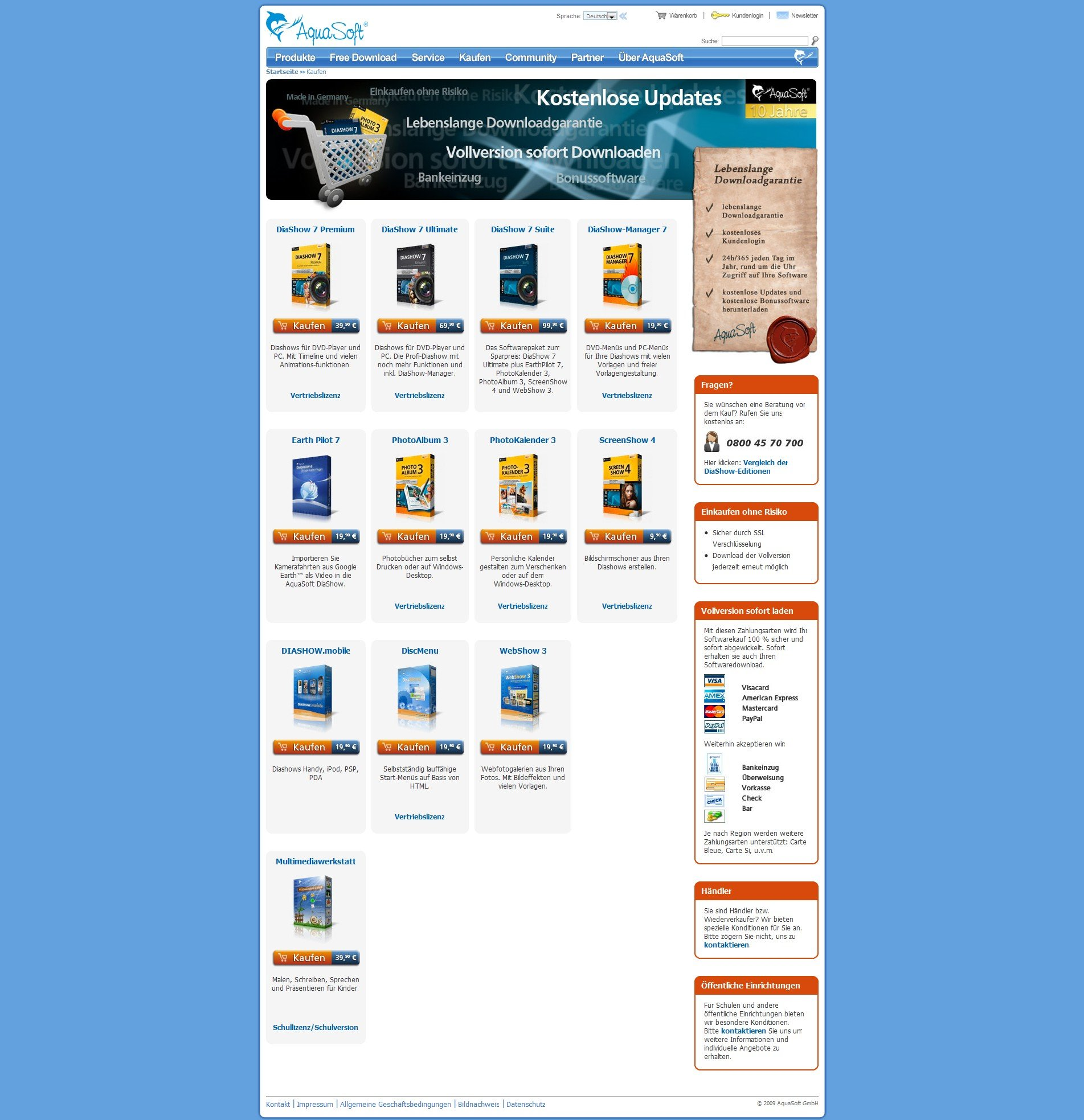 AquaSoft variation - VWO case study