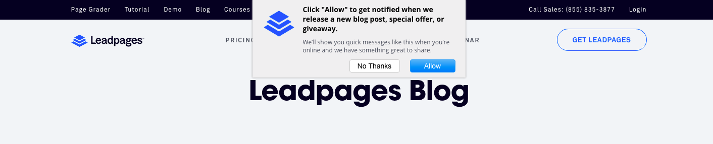Some Known Details About Leadpages Blog