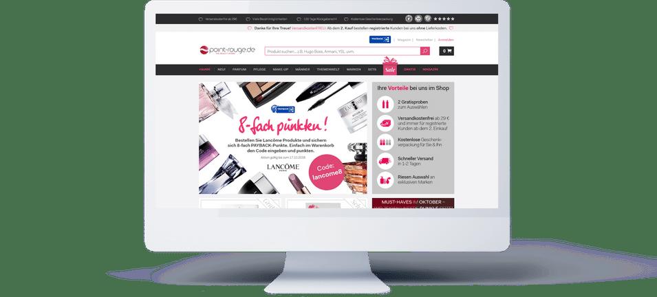 Klickkonzept home page VWO case study