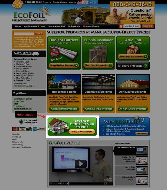 EcFoil control - VWO case study