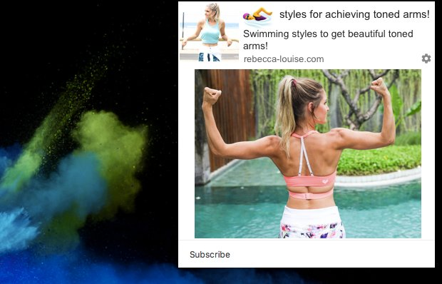 an example of push notification in health and fitness industry