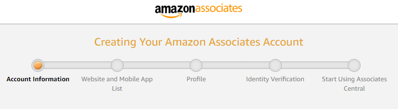 progress bars in long web forms on amazon.com