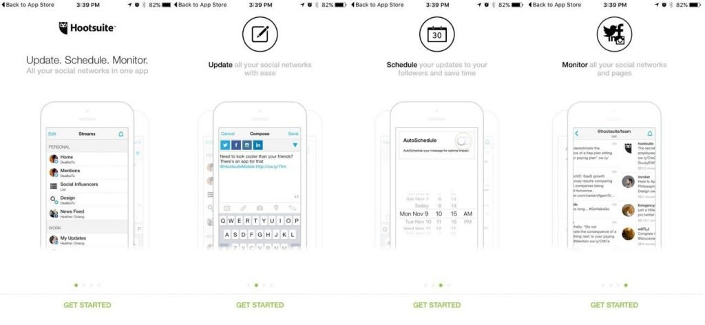 multiple steps involved in-app onboarding flow.