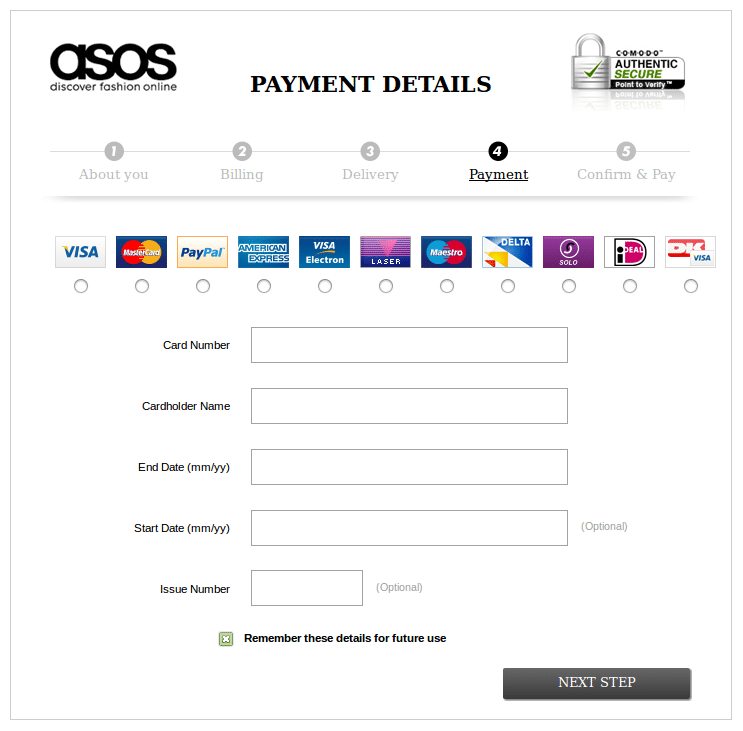 more payment options on checkout page decrease cart abandonment