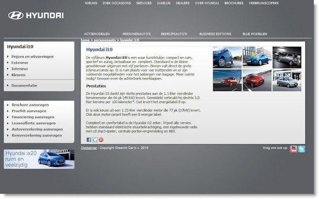 Hyundai.io Multivariate Test Control