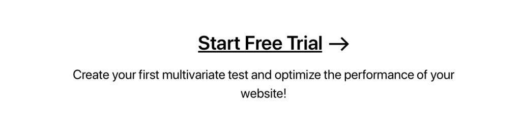 Multivariate Testing Banner 1