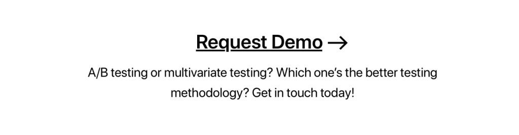 Multivariate Testing Banner 4