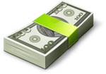 an image of dollar bills