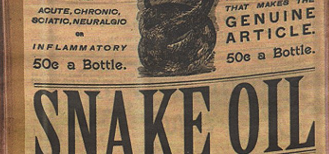 A/B testing is not snake oil
