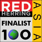 logo of the Red Herring Asia Finalist Award