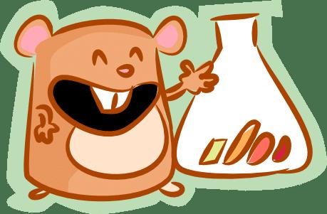 Wingify's hamster logo