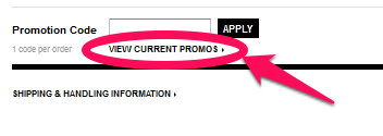 Sephora Promo Code Box