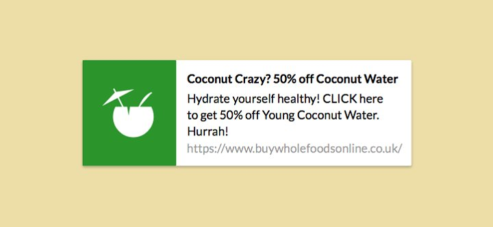 Push Notification from Buy Whole Foods Online