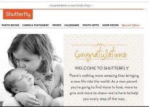 Shutterfly marketing automation goof up
