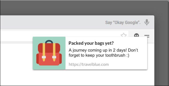 travel power words push notifications