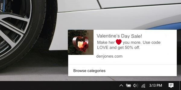 Ecommerce power words push notifications