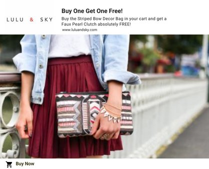 an example of how buy one get one free offer helps in increasing sales