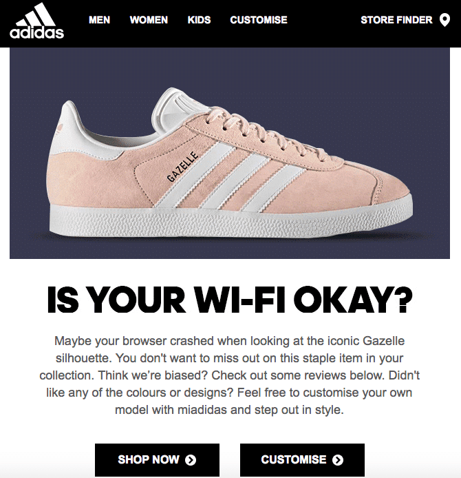picture of ecommerce Store for Adidas
