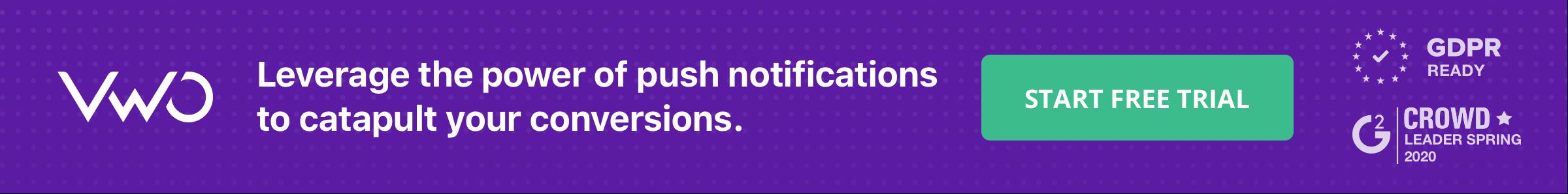 banner Push notifications