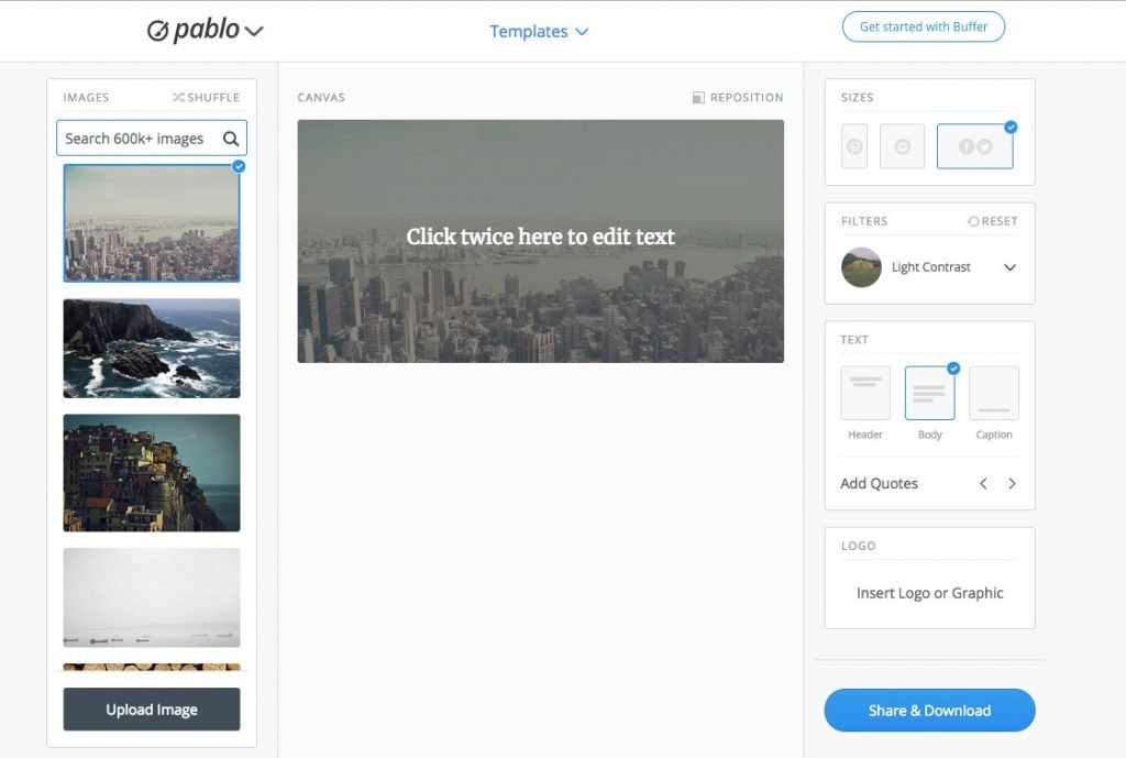 Pablo, an Instagram Marketing Tool