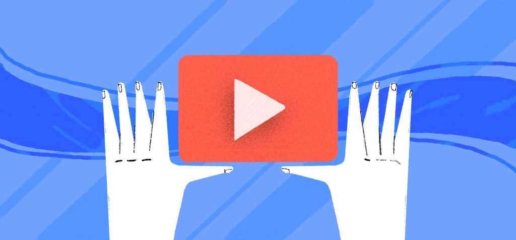 an illustration showcasing what video marketing means for businesses