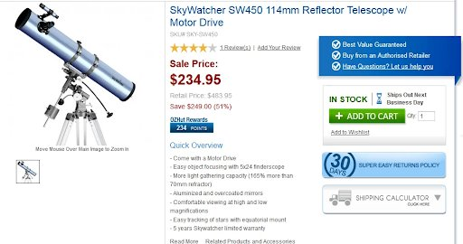 an example of how we can address the major concerns of visitors on product detail page