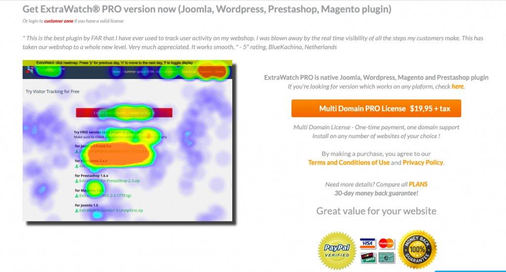 image of ExtraWatch Pro, a WordPress plugin
