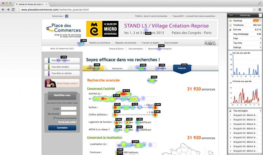 image of Heatmap, a WordPress plugin