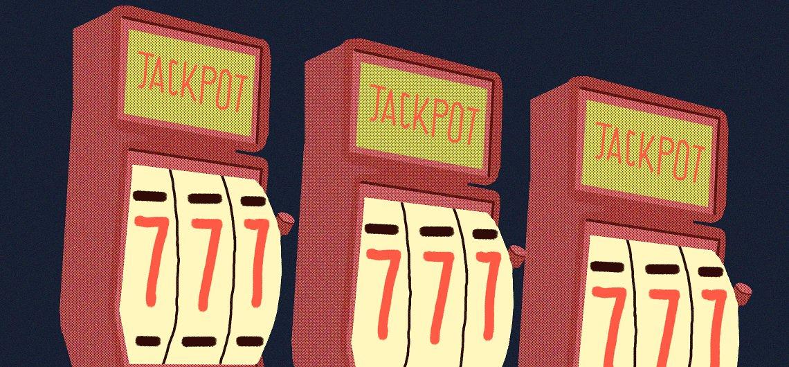 slot machines signifying multi-armed bandit algorithm