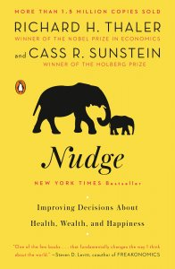 book cover of Nudge by Richard Thaler
