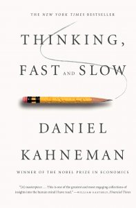 book cover of Thinking Fast And Slow by Daniel Kahneman