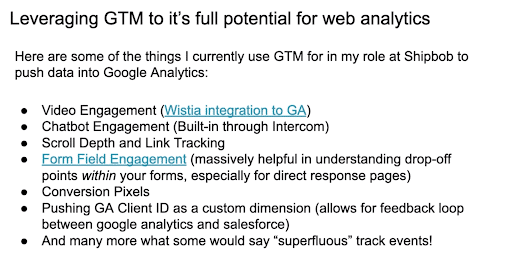 How To Leverage GTM To Its Full Potential For Web Analytics