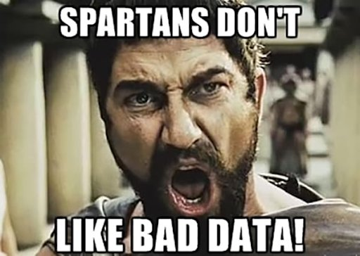 Meme On Spartans Looking At Data