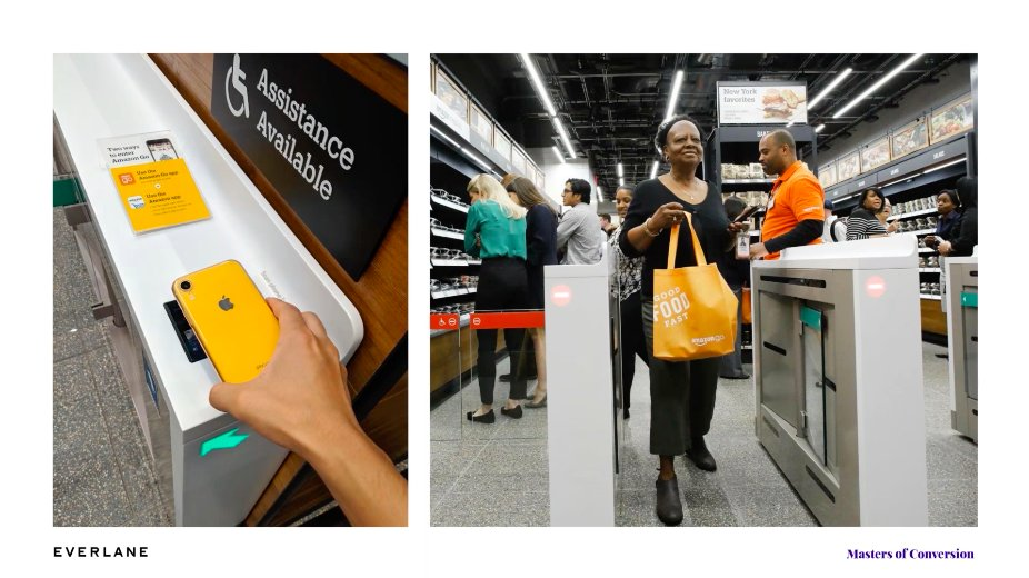 Amazon Go Just Walk Out Shopping Experience