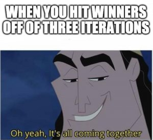 meme on getting winners in a/b testing