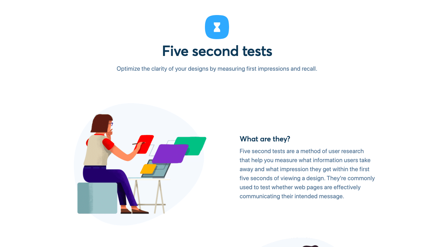 Five Second Test is a free A/B testing tool