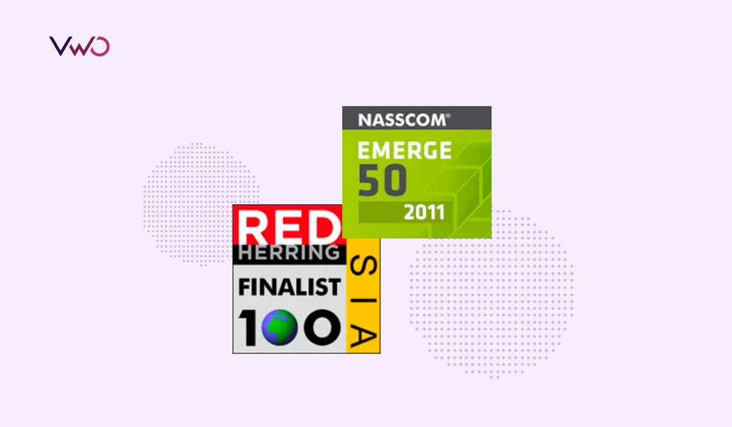 Wingify nominated for Red Herring Asia 100 and NASSCOM Emerge 50