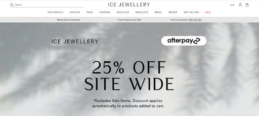 Ice Jewellery Homepage