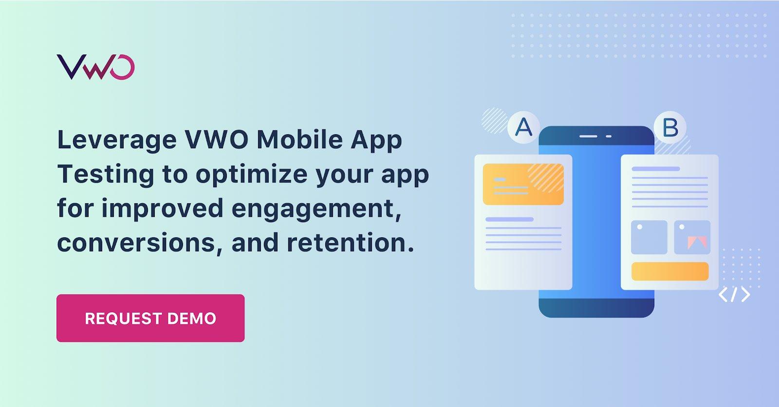 VWO Mobile App testing