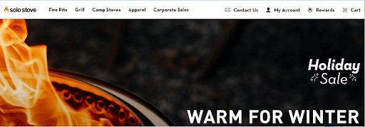 Solo Stove Homepage