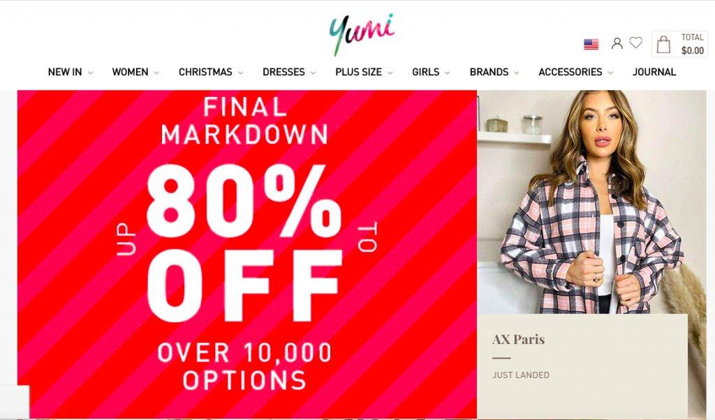 Yumi Homepage