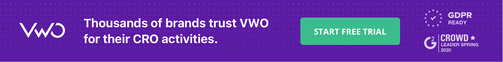 Use Vwo For Cro