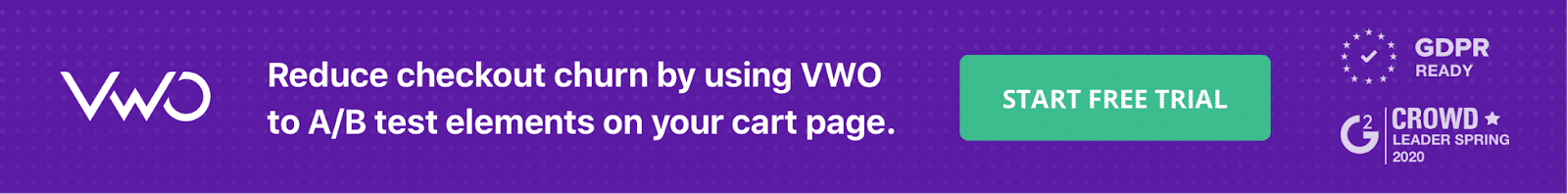 Reduce Checkout Churn with VWO