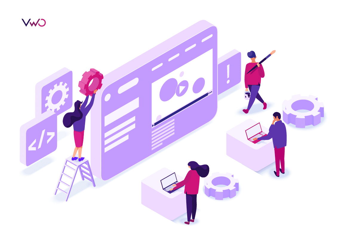 illustration on what is landing page testing