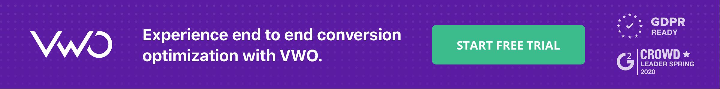 Blog Banner Landing Page Conversion Rates