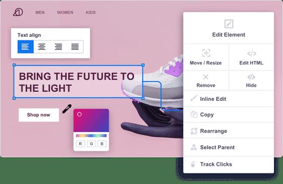 Visual Editor Design