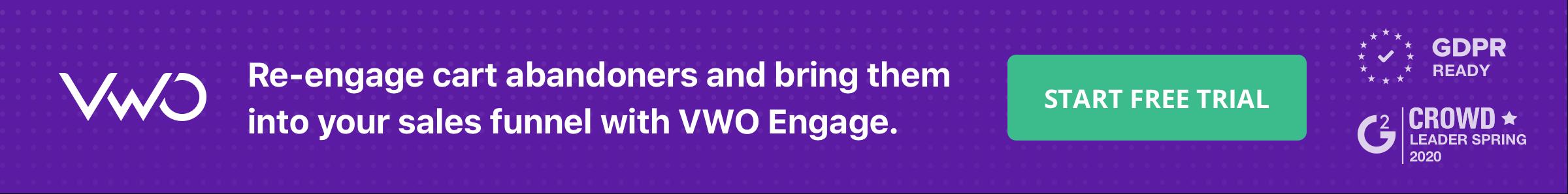 Banner VWO Engage
