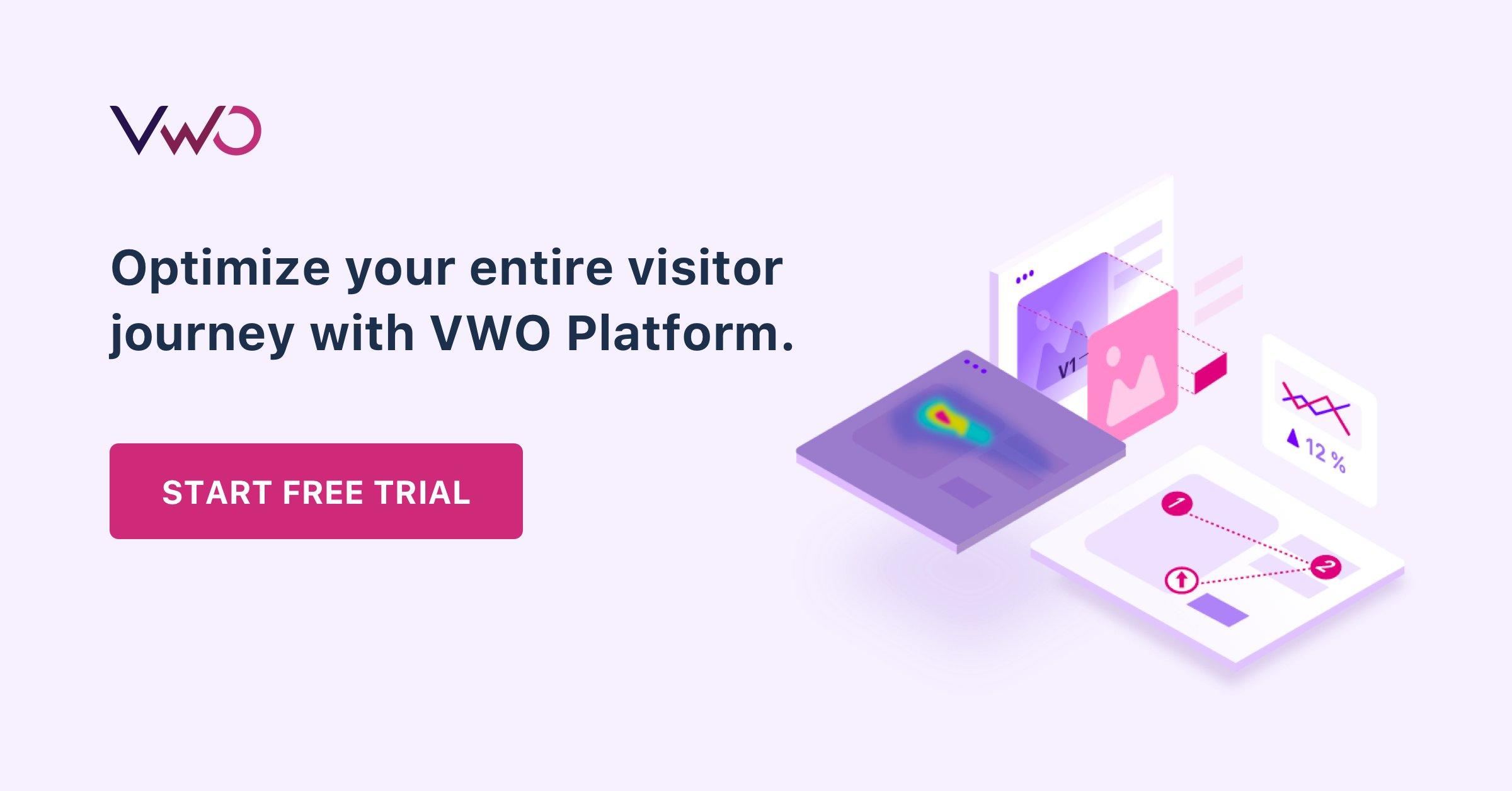 End Banner VWO Platform