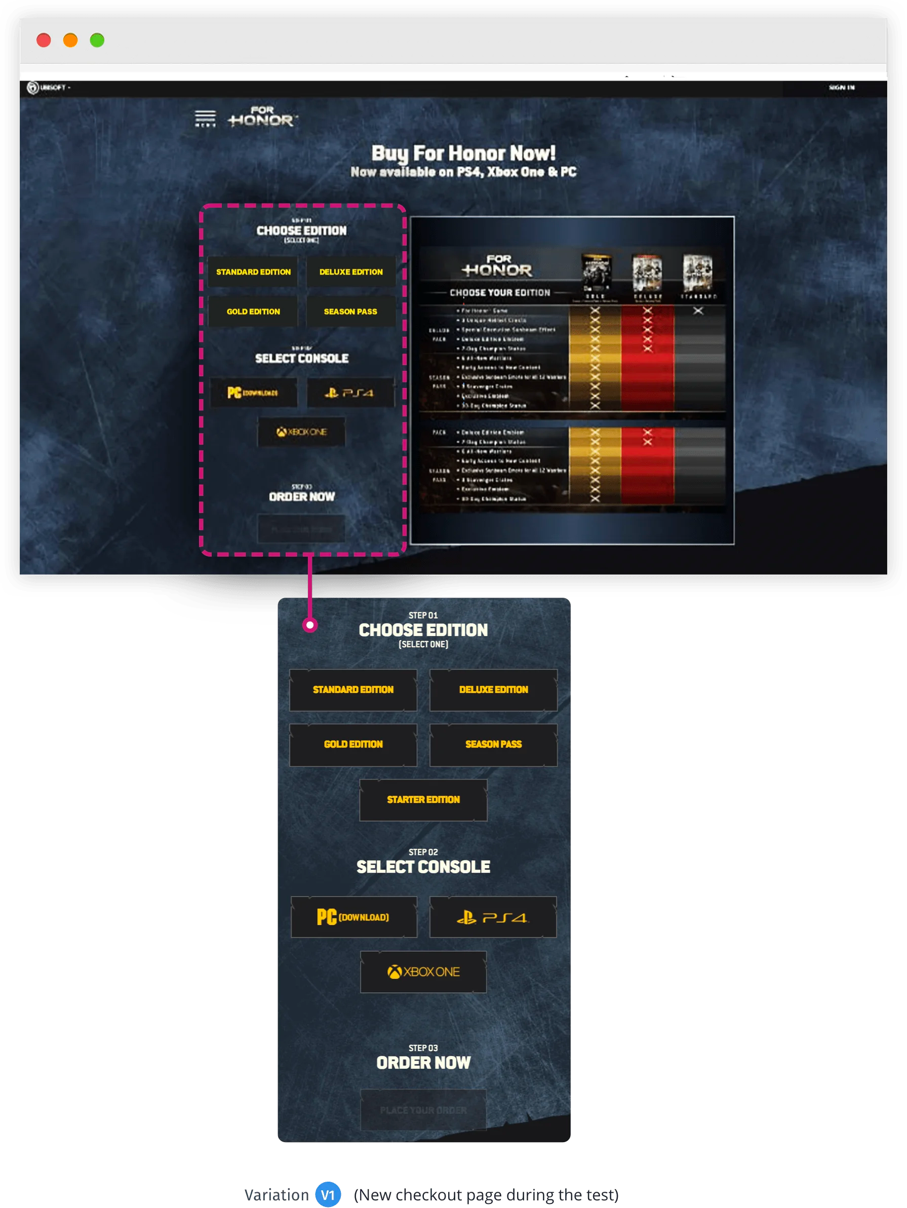 Ubisoft Variation